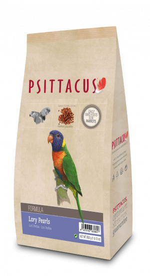 Psittacus Lory Pearls 800 grs
